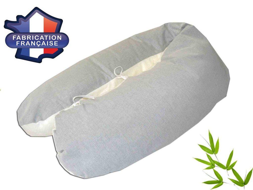 coussin d'allaitement Modulit Bambou gris
